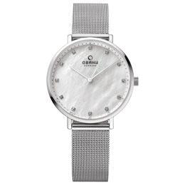 VEST - STEEL Scandinavian Designed Watch By Obaku