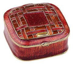 Fashion Square Jewelry Box