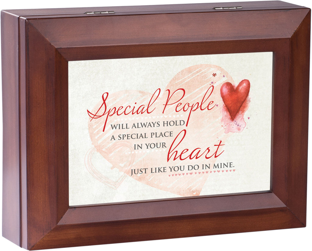 Special People Wooden Music Box