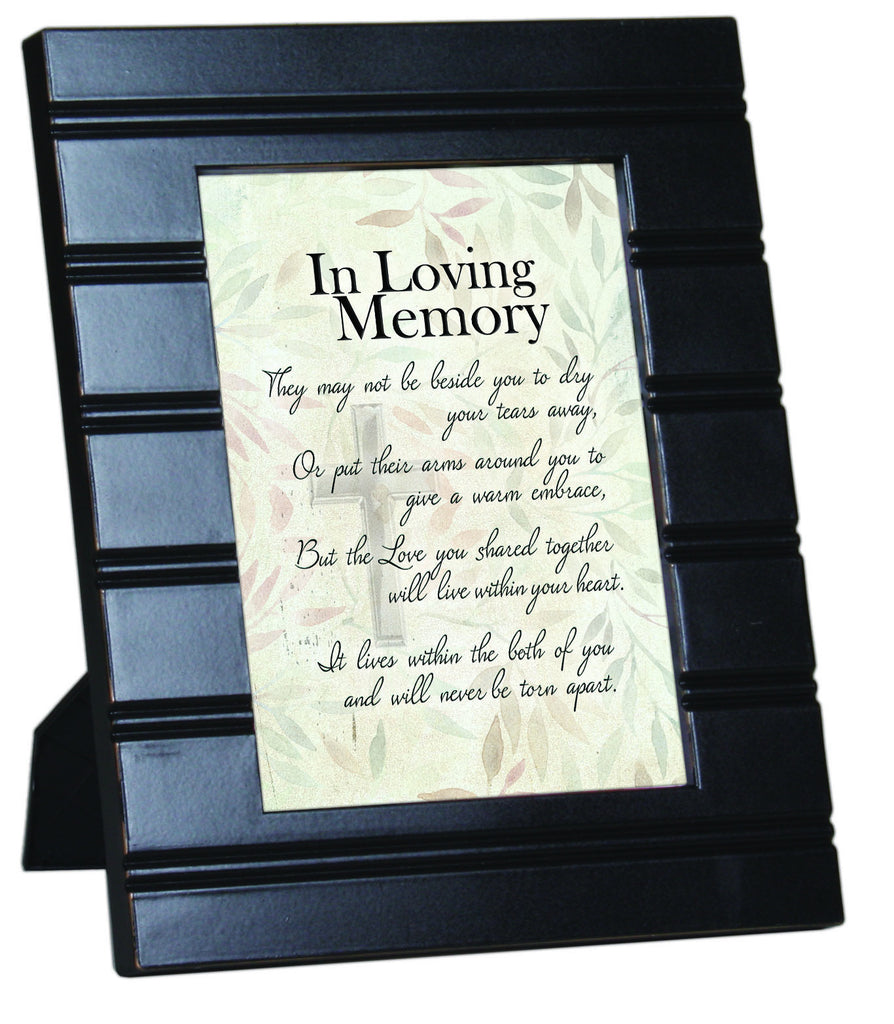 In Loving Memory Black Wood Frame