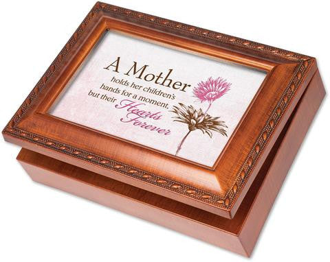 """A Mother Holds"" Wooden Music Box"