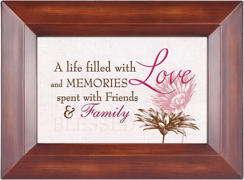 A Life Filled With Memories Wood Photo Album