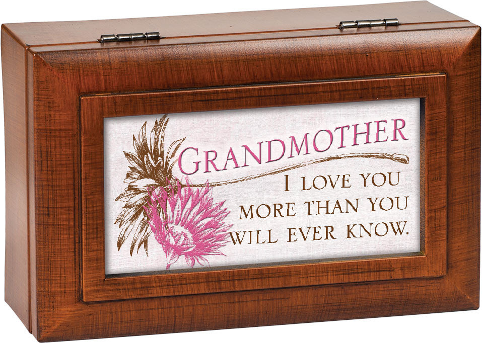 Love You More Dual Framed Wooden Music Box