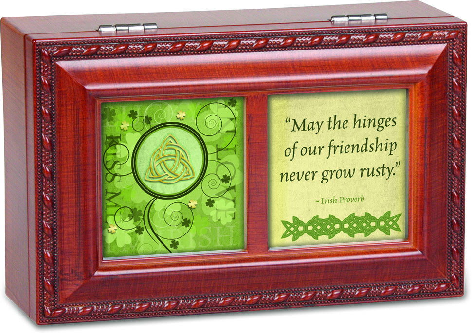 May The Hinges Dual Framed Wooden Music Box