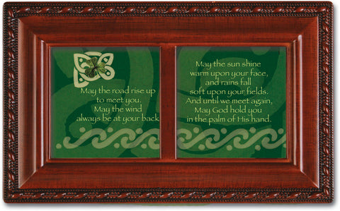 Irish Road Dual Framed Wooden Music Box