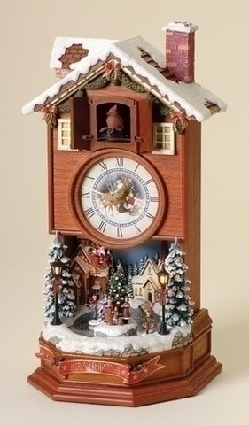 "15.5"" LTD CUCKOO CLOCK W/WINTER"