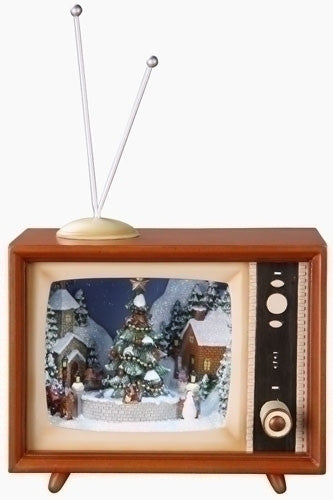 "TV w/Sledders 4.5"" Musical"