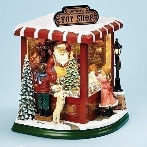 Musical 10.5� LED Toy Shop