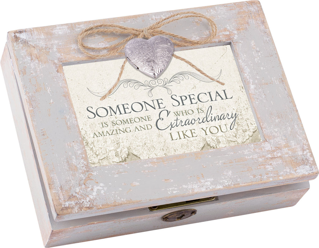 Someone Special Distressed Wood Locket Box