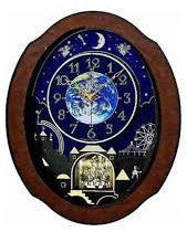 Timecracker Cosmos Musical Motion Wall Clock