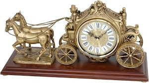 The Buggy Musical Mantle Clock