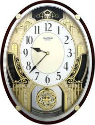 Chateau Musical Wall Clock