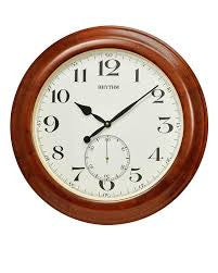 Brookhaven Wooden Wall Clock