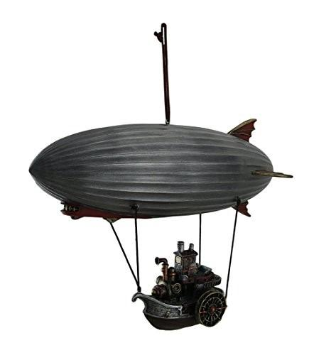 Steampunk Airship with Steamship Gondola