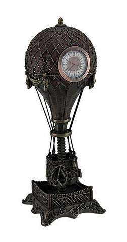 Steampunk Hot Air Balloon Clock