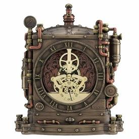Steampunk Grand Machine Mantel Clock