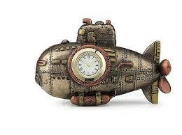 Steampunk Mini Submariner Clock
