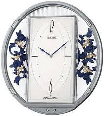 Melodies in Motion: Flowers Musical Wall Clock