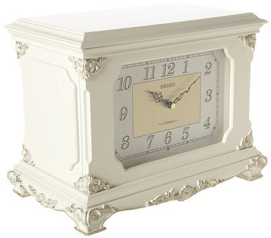 Musical Jewelry Box Desk Clock
