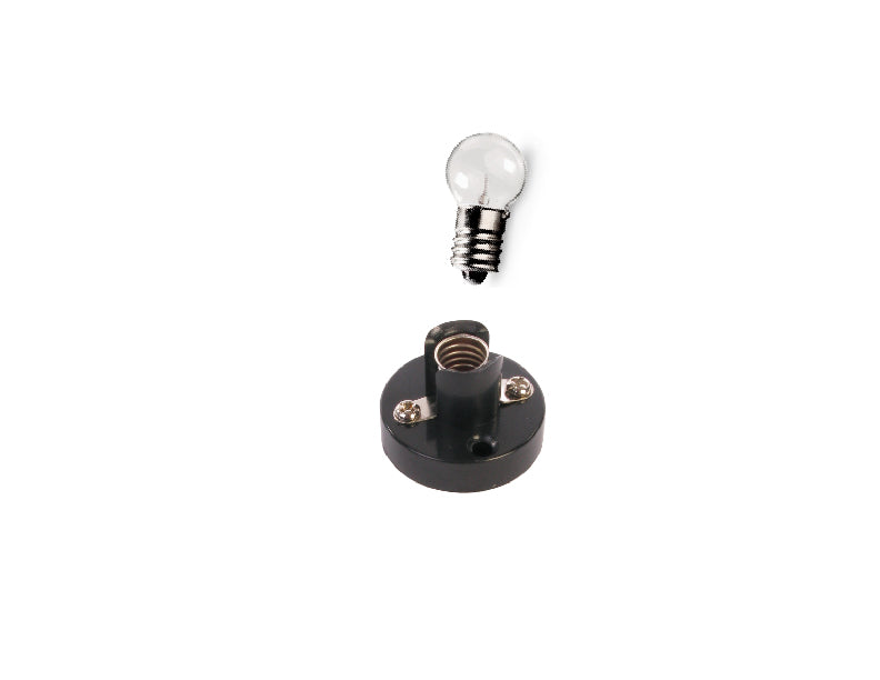 Mini Light Bulb 3.2 volts (150mA) w/ Socket