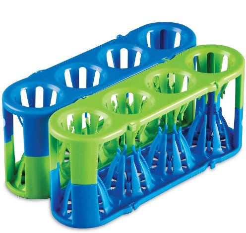 Adapt-a-Rack ~ Flexible Multi-Tube Rack (Test Tube Rack) ~ Blue/Green - The Science Shop