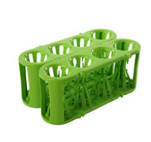 Adapt-a-Rack ~ Flexible Multi-Tube Rack (Test Tube Rack) ~ Green - The Science Shop