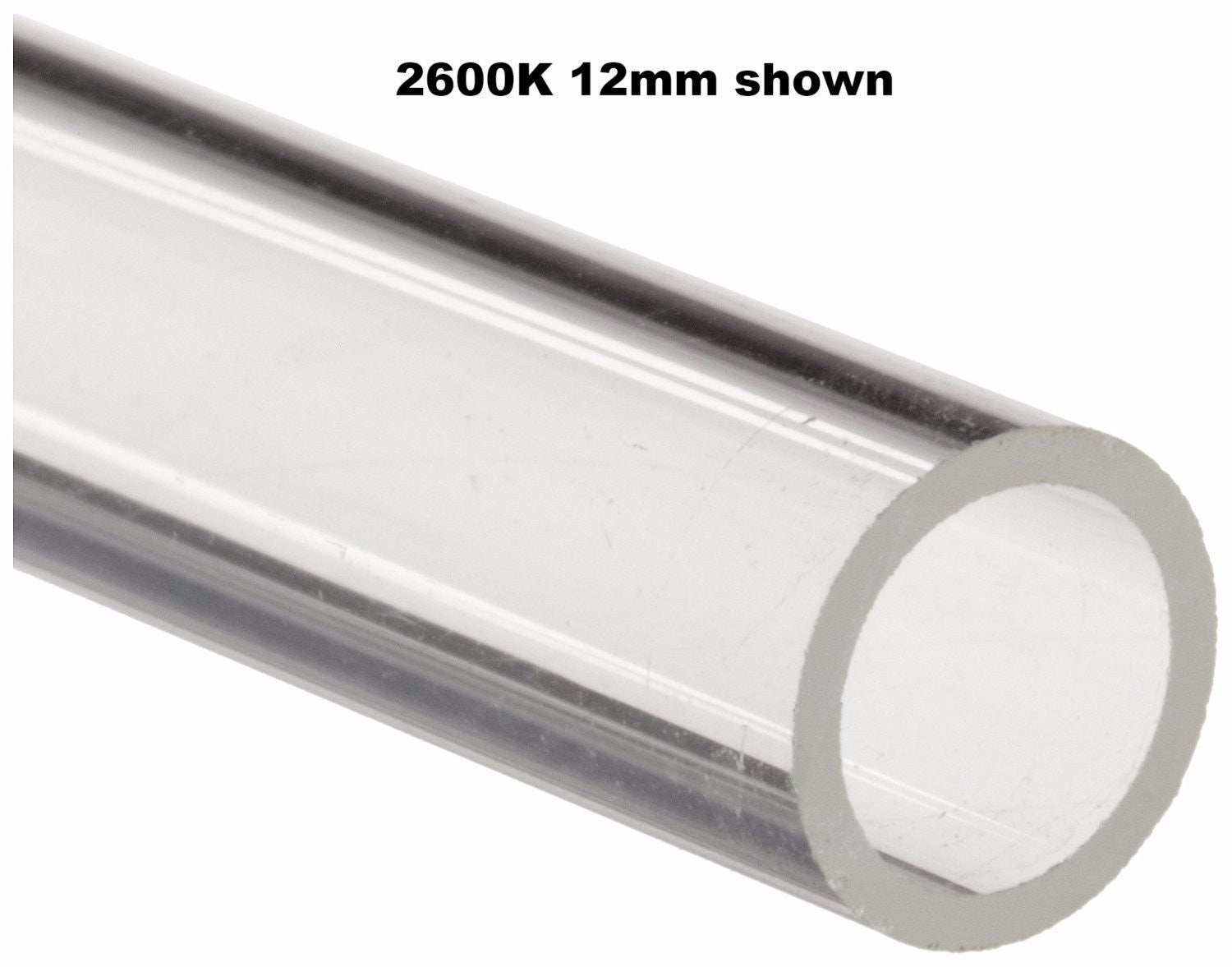 "7mm Soda Lime Glass Tubing 12""L - The Science Shop"
