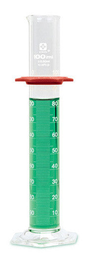 Graduated Cylinder - Glass (Economy Grade) ~ 500mL