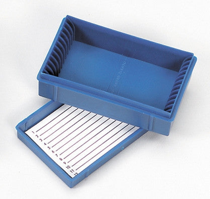 Microscope Slide Box ~ 12 slides