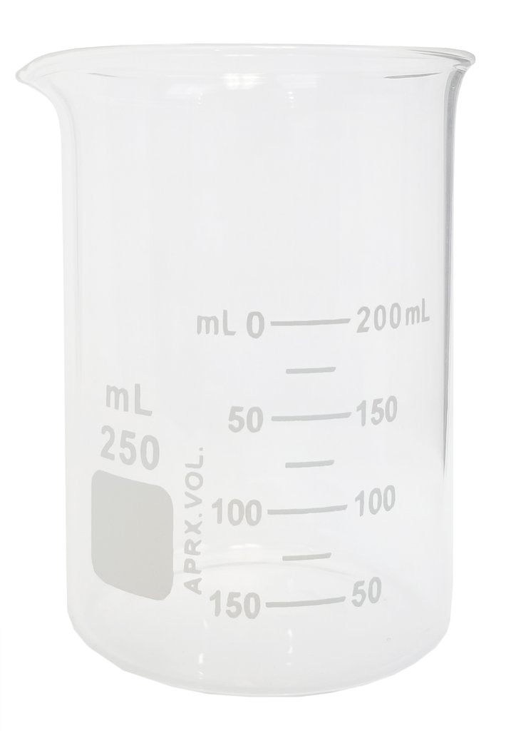 Griffin Low Form Beaker, Graduated ~ 250mL