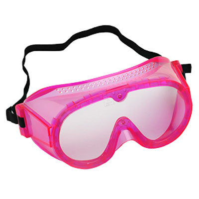 "Secondary Safety Goggles - 6"" Fluorescent Pink"