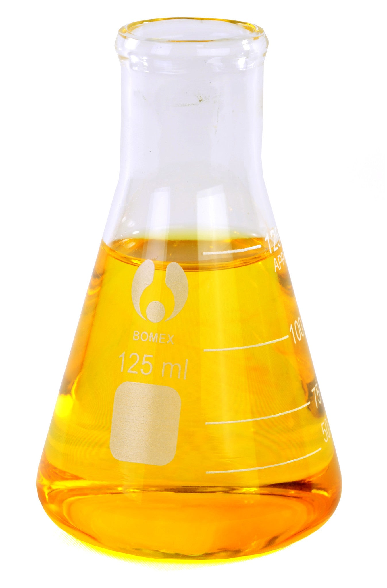Bomex Erlenmeyer Flask ~ 125mL - The Science Shop