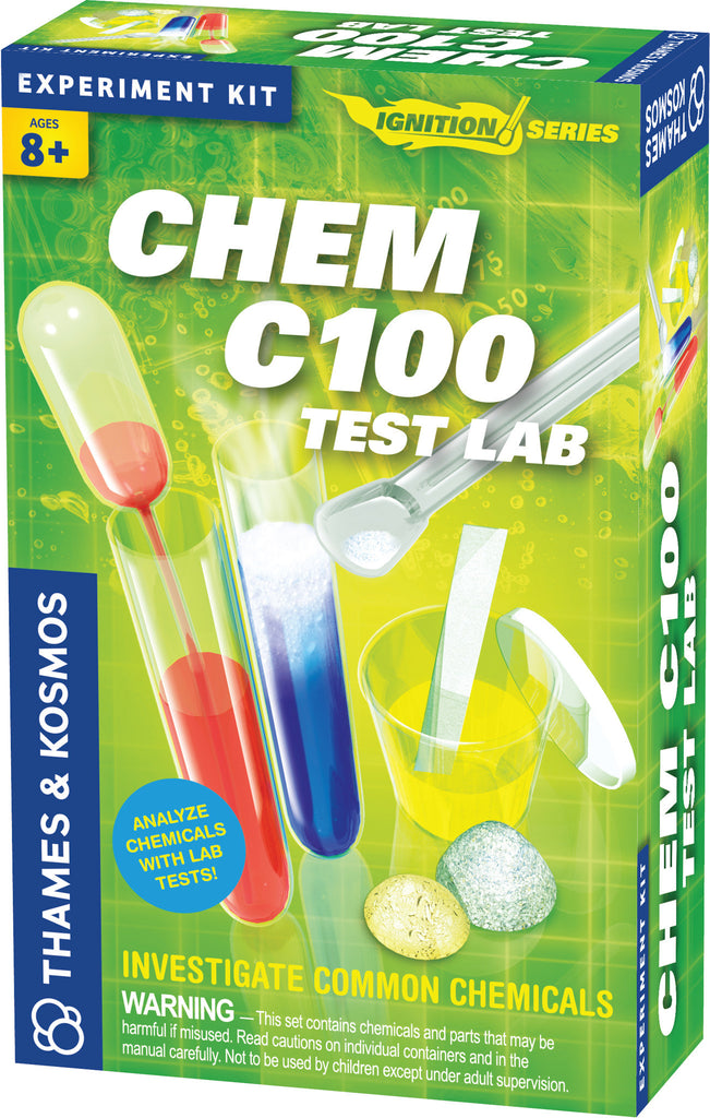 Thames & Kosmos ~ Chem C100 Test Lab