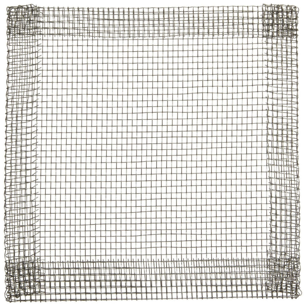 "Plain Tinned Iron Wire Gauze Square 5"" x 5"""
