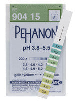 PEHANON® 3.8 - 5.5 pH Test Strips 200/pk
