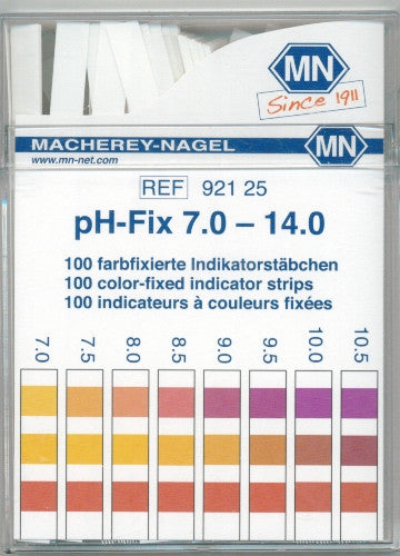 pH-Fix 7 - 14 Test Strips 100/pk
