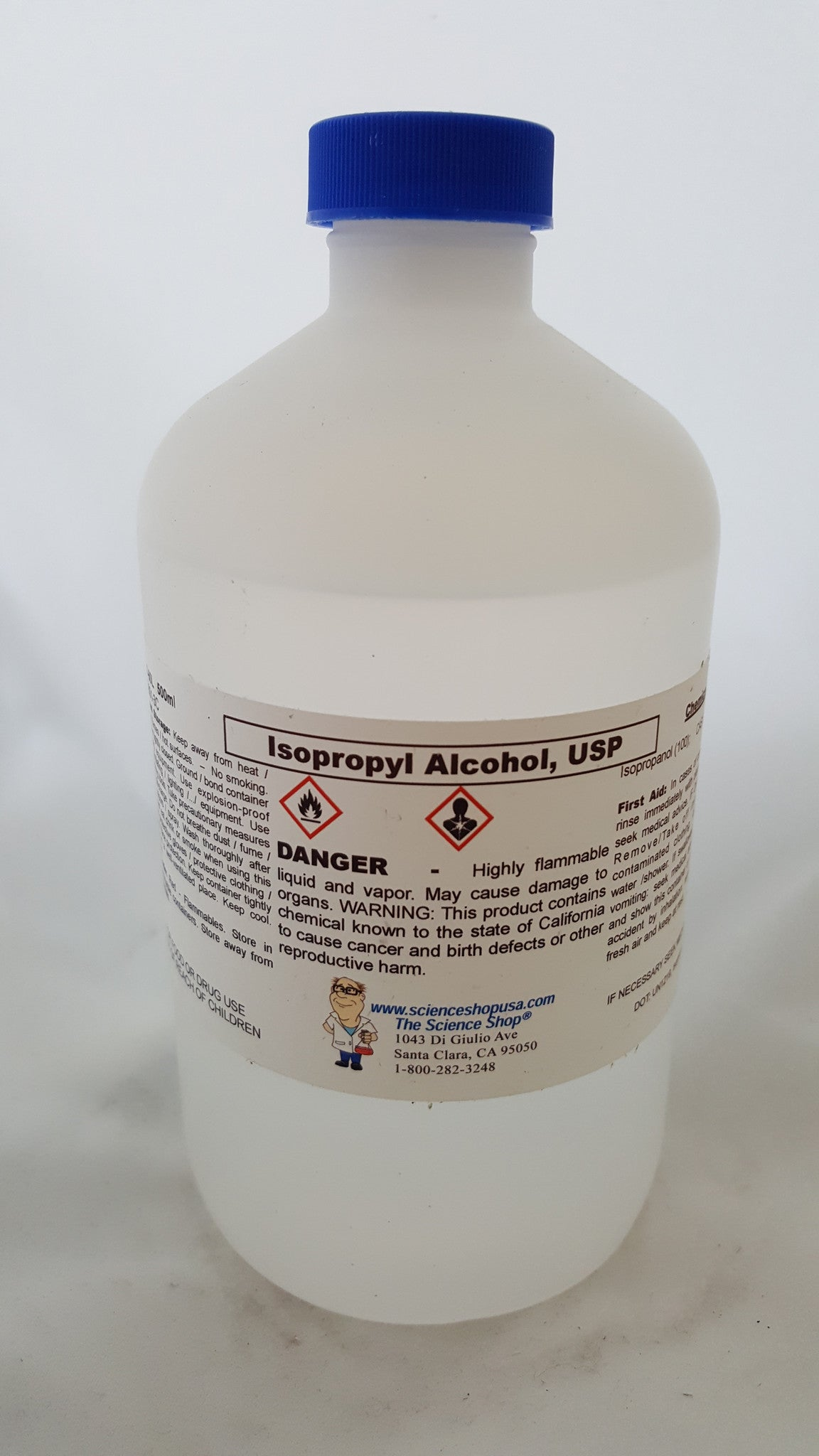 Isopropyl Alcohol 500ml USP 99%