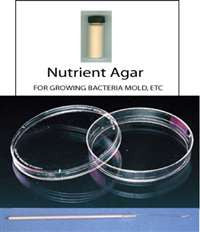 NUTRIENT AGAR BACTERIOLOGICAL CULTURE MEDIA KIT