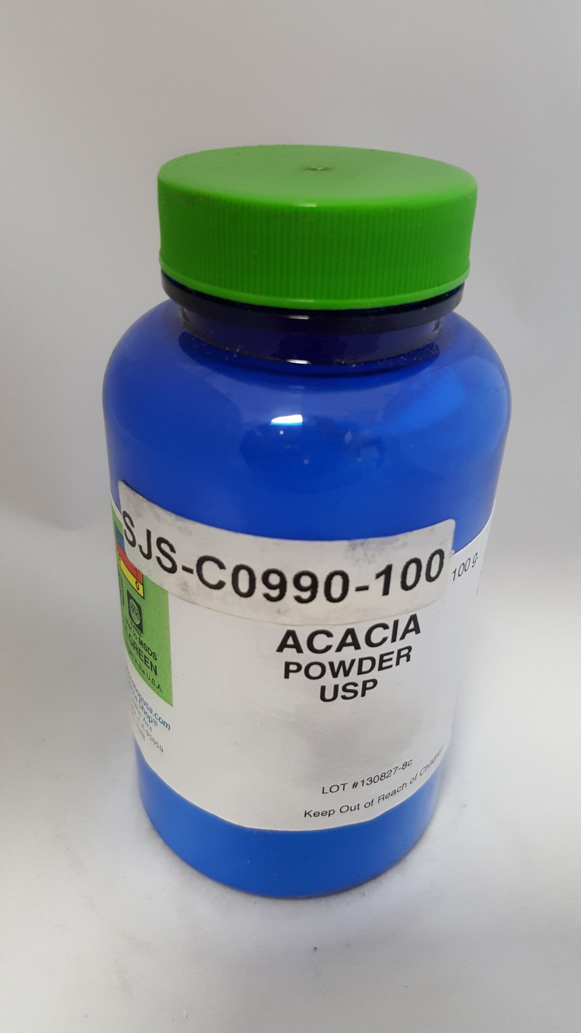 Acacia (Gum Arabic) Powder Lab Grade 100g