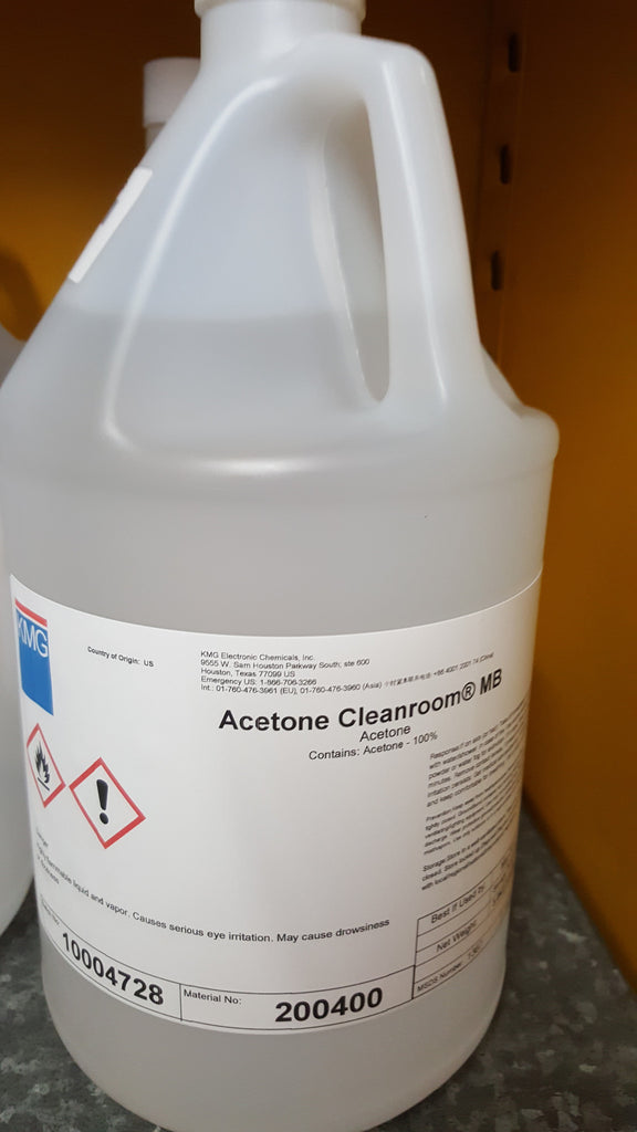 Acetone 1 Gallon Cleanroom Grade