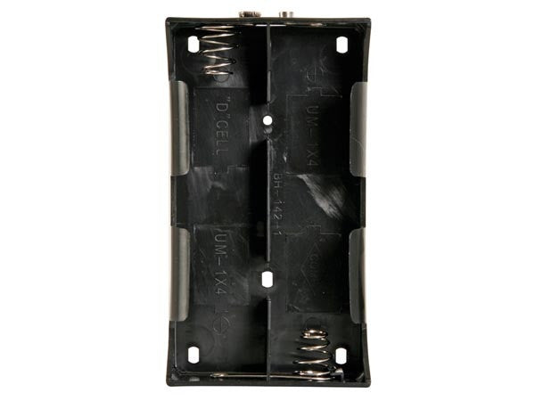 Battery holder for 4 x d-cell (with snap terminals) - The Science Shop - 1