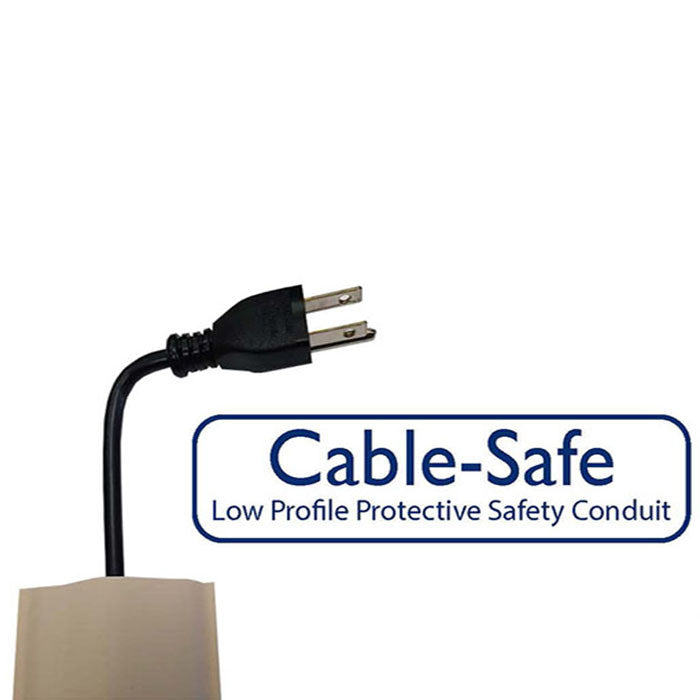 Cable-Safe 15' Taupe-Brown