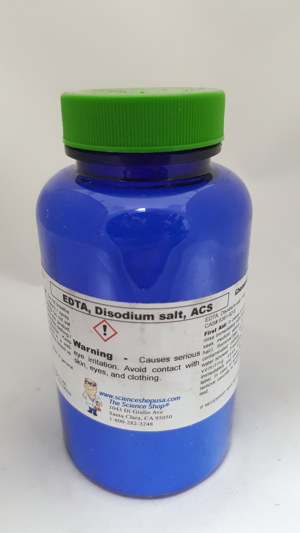 EDTA DISODIUM SALT, POWDER, REAGENT 100G
