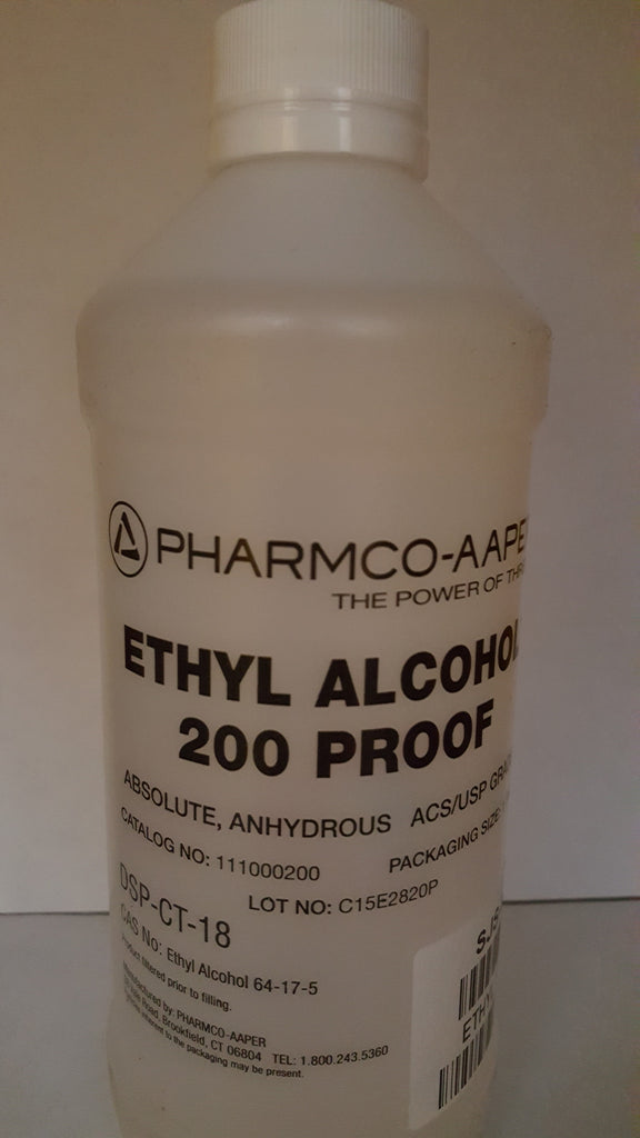 Ethyl Alcohol 200 Proof 500ml Non-Denatured