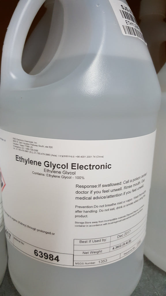 Ethylene Glycol  1 Gallon Electronics Grade