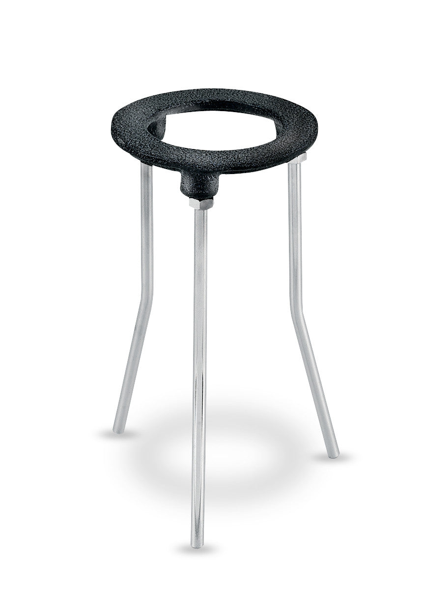 "4-1/4"" O.D. Tripod Ring Stand with 9"" legs"
