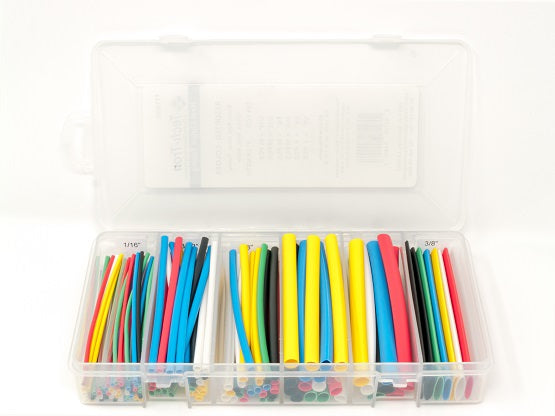 Heat Shrink Tubing Kit – Assorted Colors – 154 PCS, 4 In