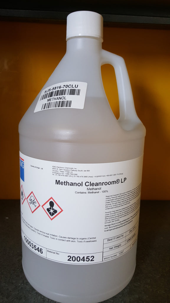 Methanol Electronics Grade 1 Gallon