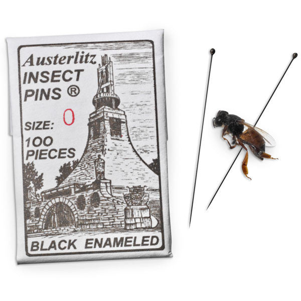 Insect Pins - Size 0 ~ 100/PK