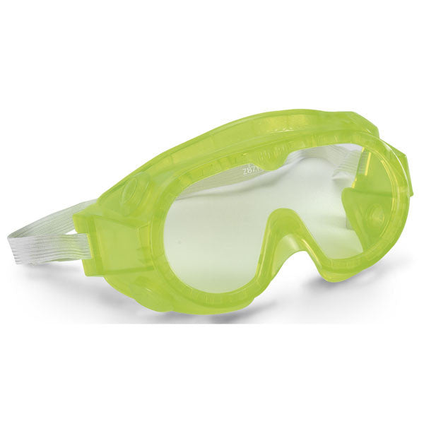 "Elementary Splash Goggles - 5"" Fluorescent Yellow"